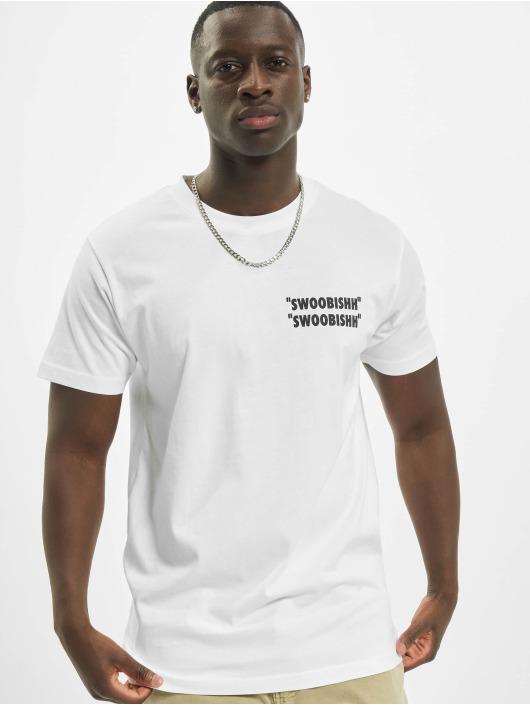 Mister Tee T-skjorter Swoobishh hvit