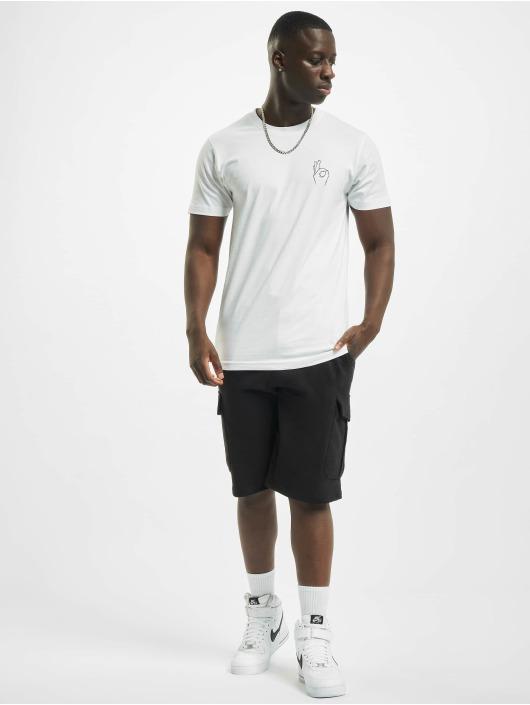 Mister Tee T-skjorter Easy hvit