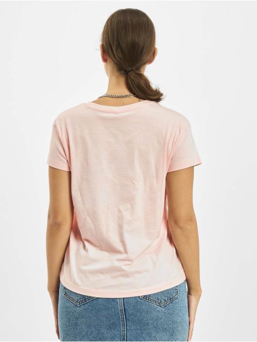 Mister Tee T-skjorter Vitamin U Box rosa