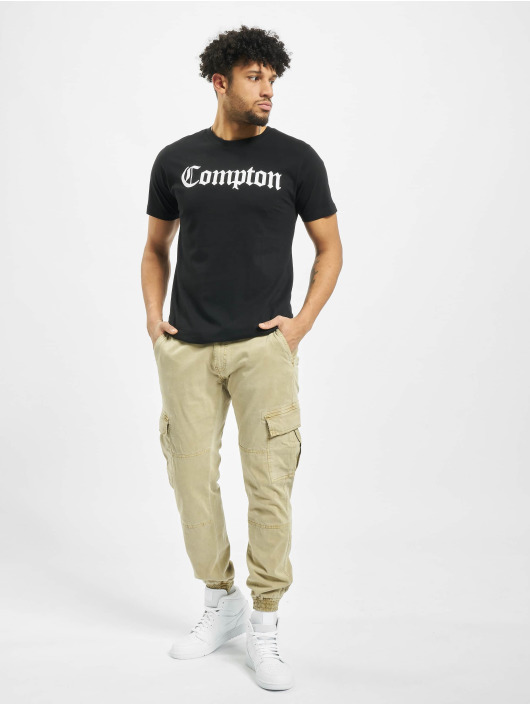 Mister Tee T-skjorter Compton svart