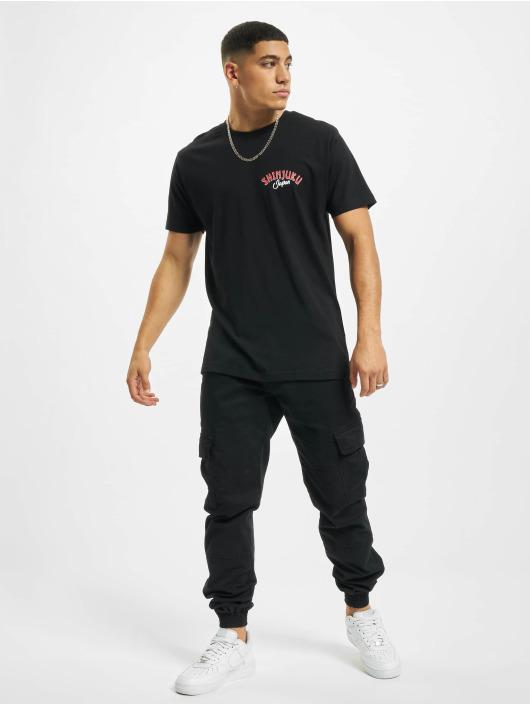 Mister Tee T-skjorter Shinjuku svart