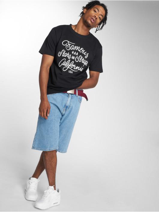 Mister Tee T-skjorter Hometown svart