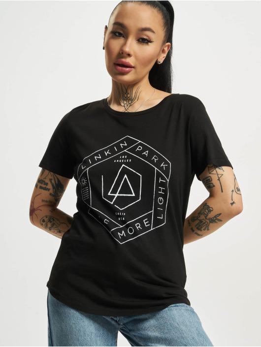 Mister Tee T-skjorter Ladies Linkin Park Oml Fit svart