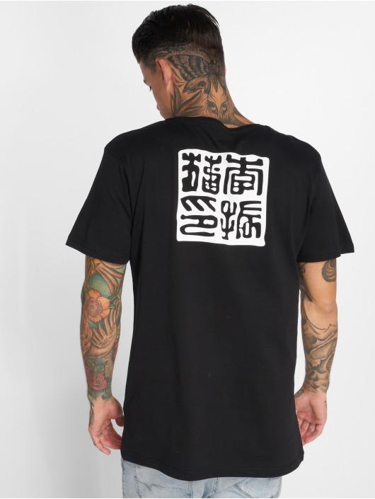 Mister Tee T-skjorter Bruce Lee svart