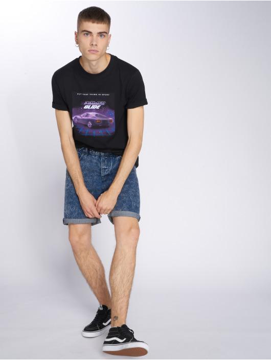 Mister Tee T-skjorter Pwrglde svart