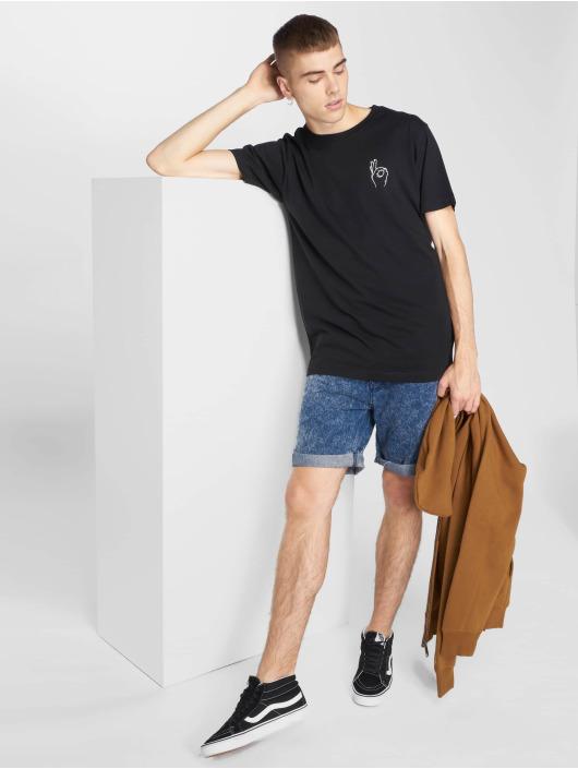 Mister Tee T-skjorter Easy svart