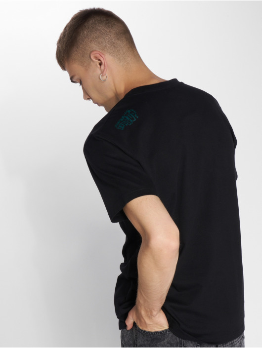 Mister Tee T-skjorter Buggin' Out svart