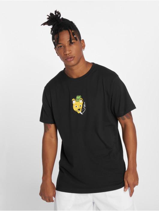 Mister Tee T-skjorter Müppe Skate svart