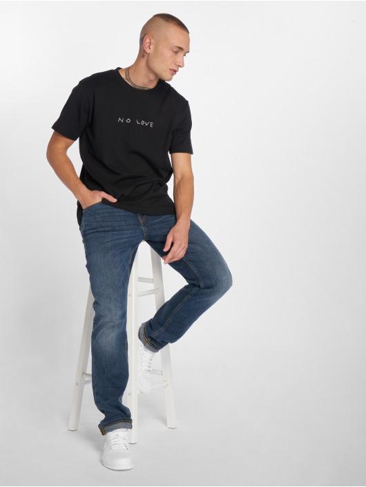 Mister Tee T-skjorter No Love svart