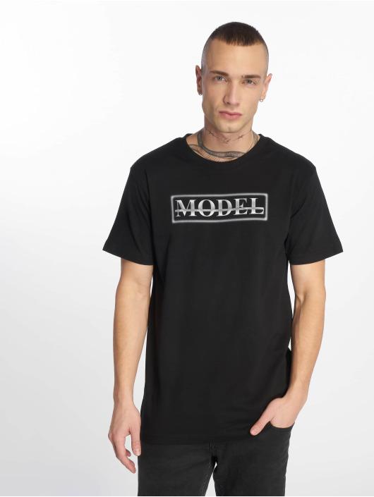 Mister Tee T-skjorter Model svart