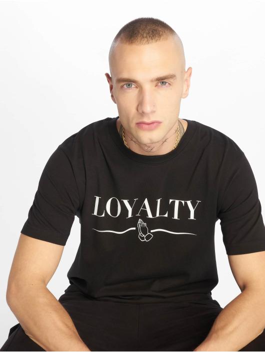 Mister Tee T-skjorter Loyalty svart