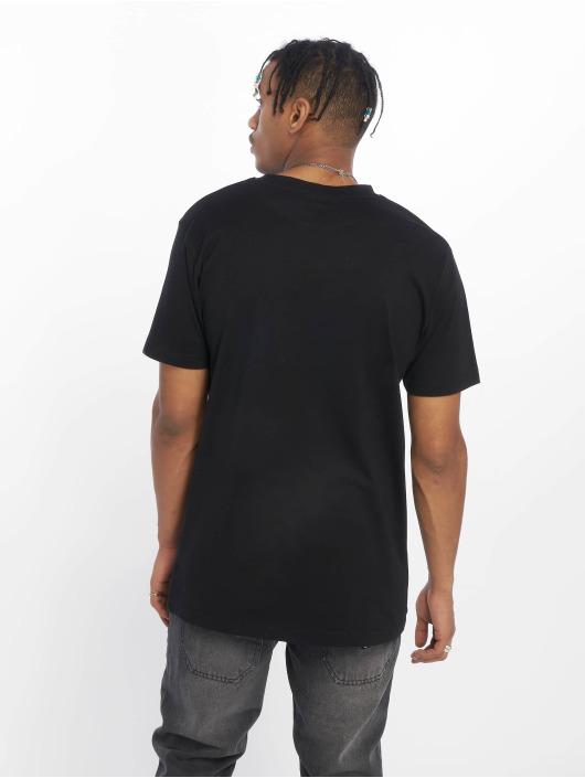Mister Tee T-skjorter Coloured Fuck Off svart