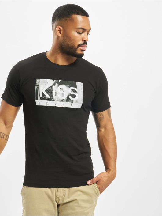 Mister Tee T-skjorter Kiss Treats svart