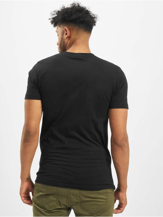 Mister Tee T-skjorter Skyline svart