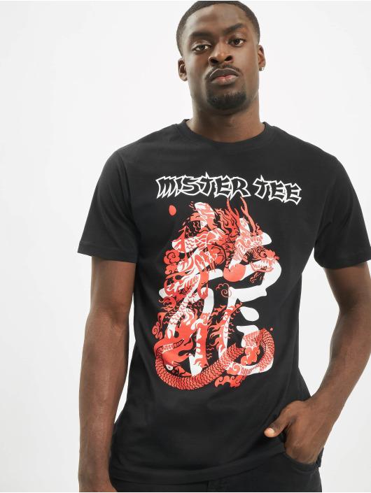 Mister Tee T-skjorter Dragon svart