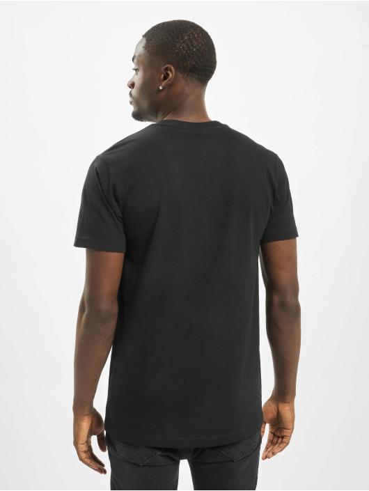 Mister Tee T-skjorter Run DMC Camo svart