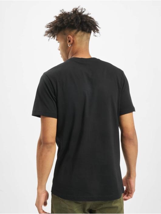 Mister Tee T-skjorter Fuck Off Split svart
