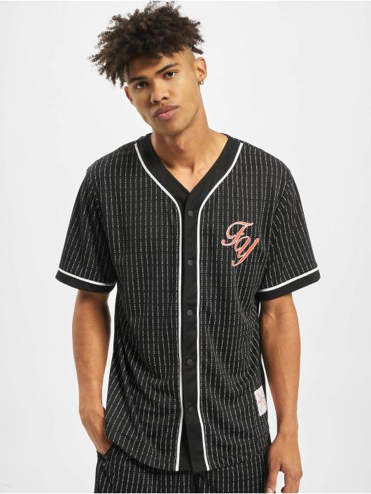 Mister Tee T-skjorter Fuckyou Baseball Mesh svart