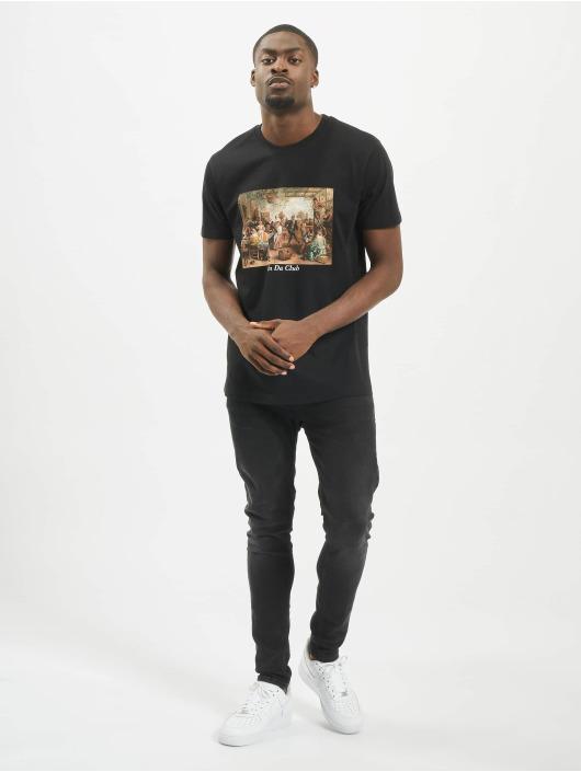 Mister Tee T-skjorter Club svart