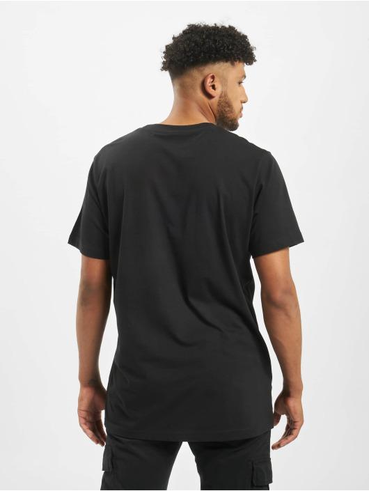 Mister Tee T-skjorter Pistol Rose svart