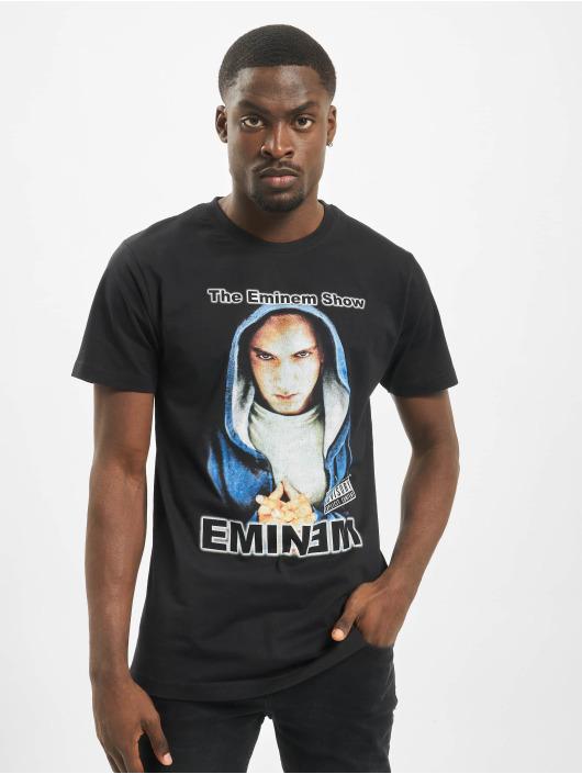 Mister Tee T-skjorter Eminem Hooded Show svart