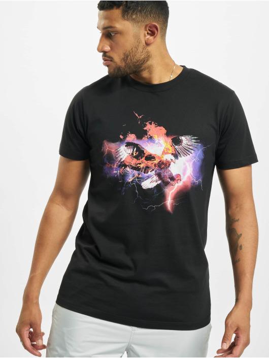 Mister Tee T-skjorter Eagle svart