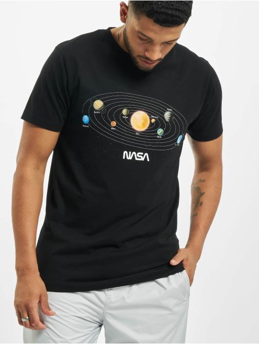 Mister Tee T-skjorter Nasa Space svart