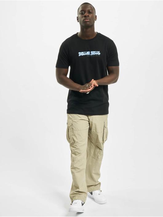 Mister Tee T-skjorter Dollar Bills svart