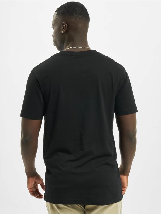 Mister Tee T-skjorter Hood svart