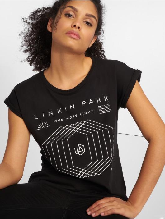 Mister Tee Tričká Ladies Linkin Park One More Light èierna