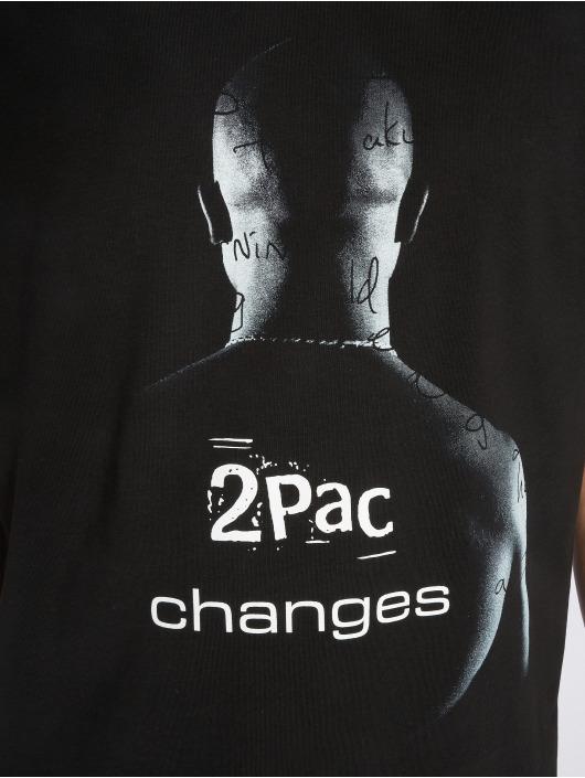 Mister Tee Tričká 2Pac Changes èierna