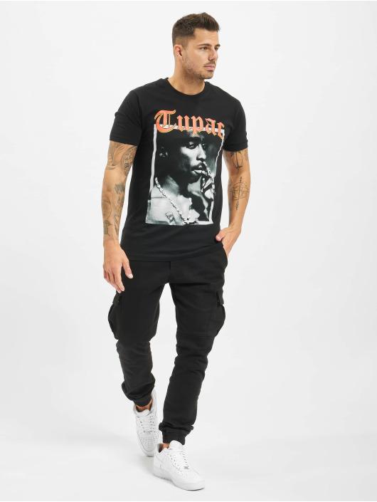 Mister Tee Tričká Tupac California Love èierna
