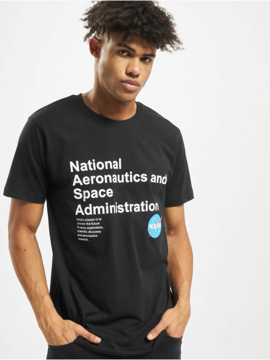 Mister Tee Tričká NASA Definition èierna