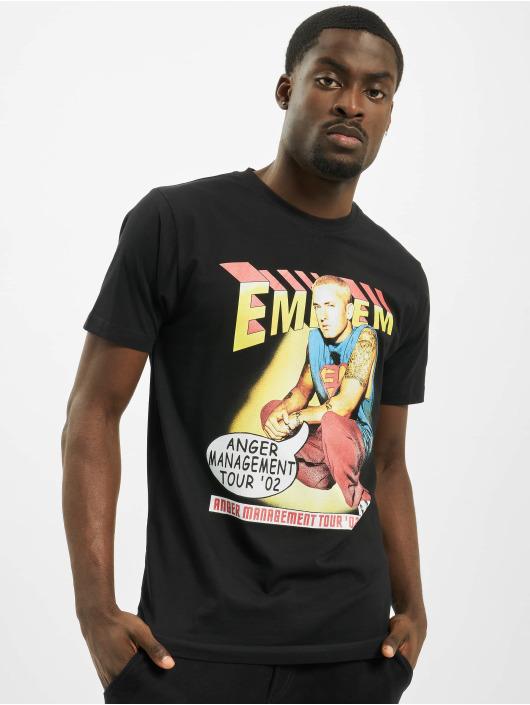 Mister Tee Tričká Eminem Anger Comic èierna