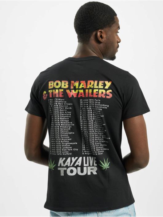 Mister Tee Tričká Bob Marley Kaya Live Tour èierna