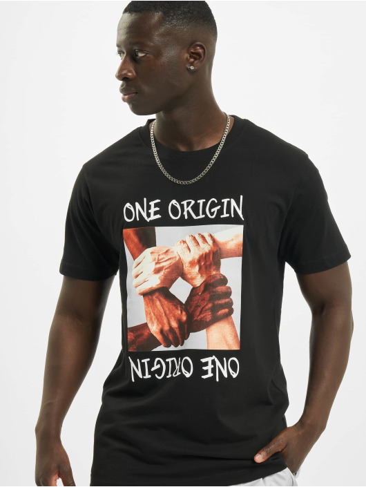 Mister Tee Tričká One Origin èierna