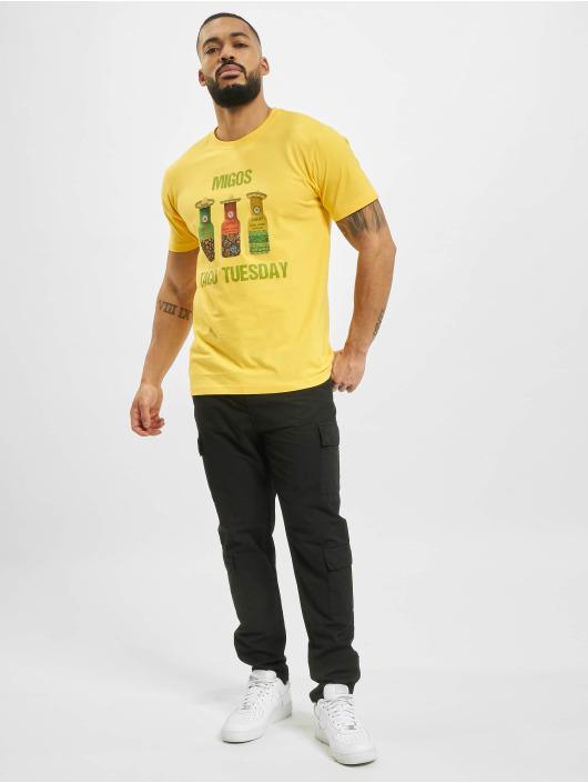 Mister Tee Tričká Migos Tuesday Taco žltá