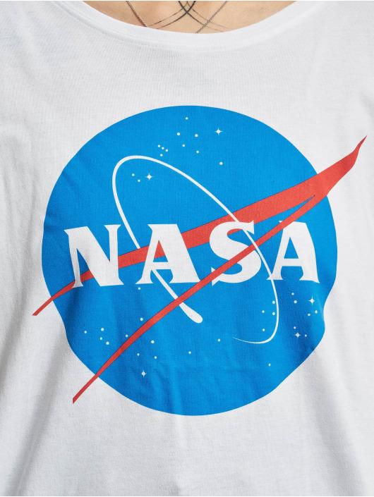 Mister Tee Tričká NASA Insignia biela