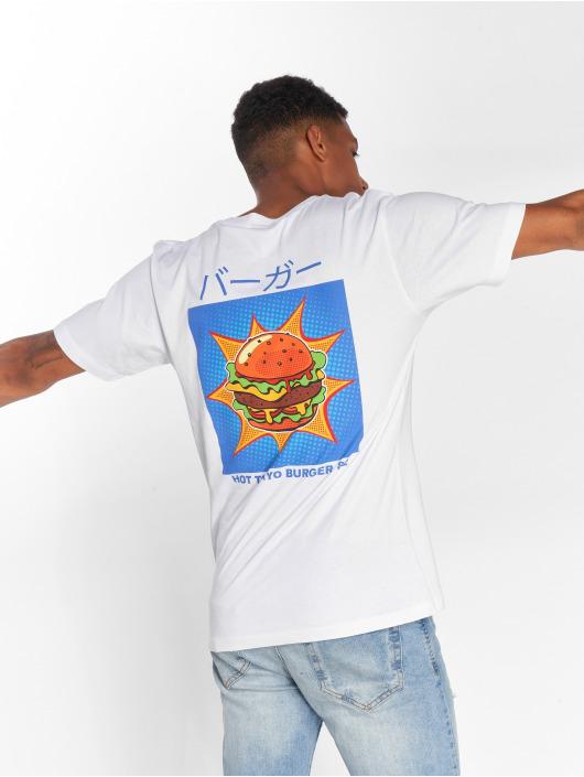 Mister Tee Tričká Tokyo Burger biela