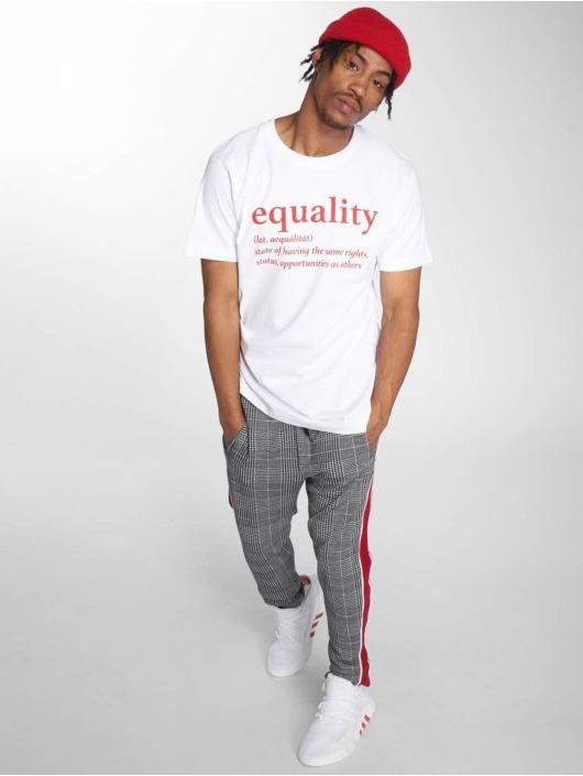 Mister Tee Tričká Equality biela