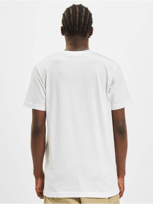 Mister Tee Tričká Nasa Logo Embroidery biela