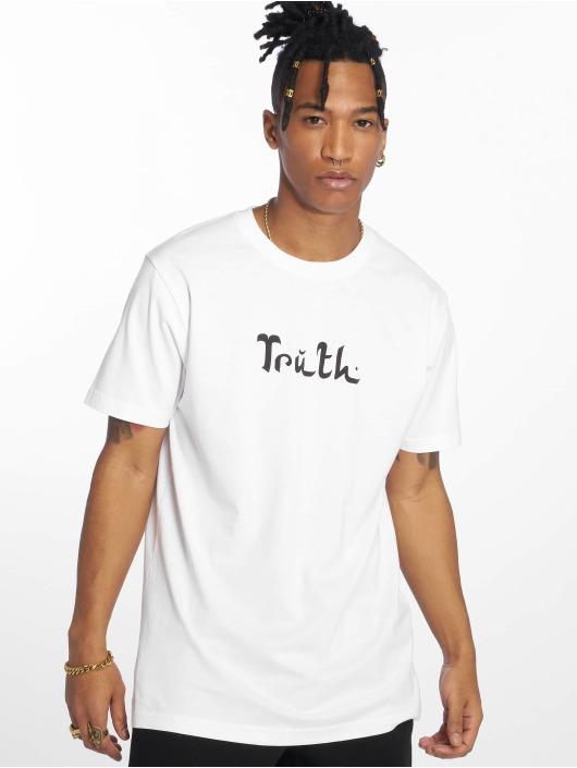 Mister Tee Tričká Truth biela