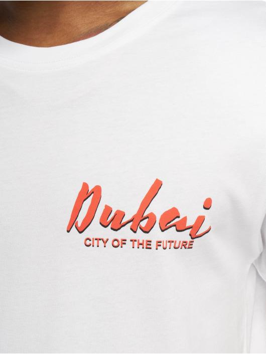 Mister Tee Tričká City Of The Future biela
