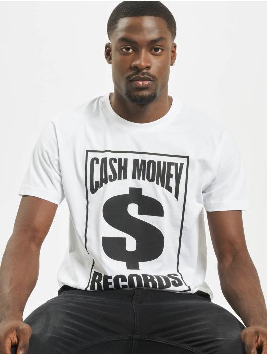 Mister Tee Tričká Cash Money Records biela