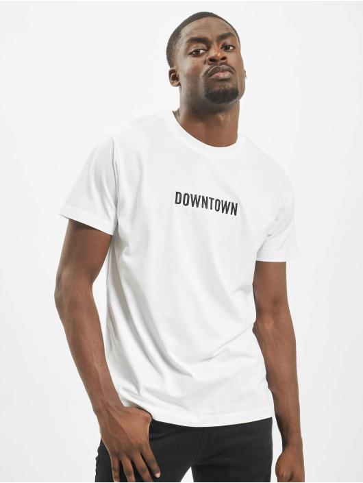 Mister Tee Tričká Downtown biela