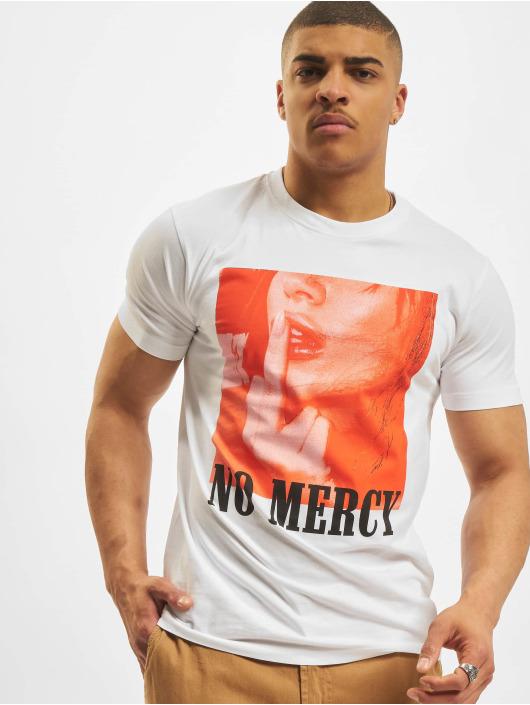 Mister Tee Tričká No Mercy biela