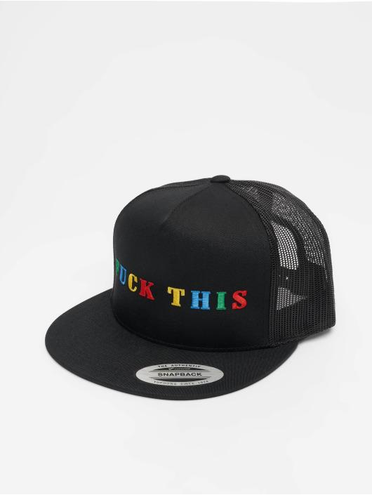 Mister Tee trucker cap Fuck This zwart