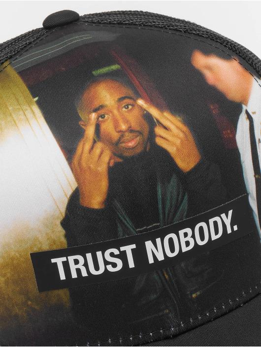 Mister Tee Trucker Caps Tupac Trust Nobody Retro czarny