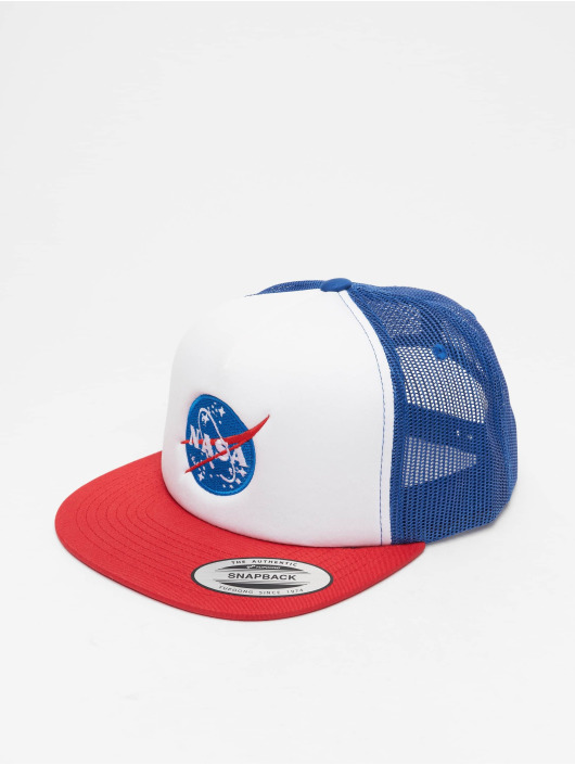 Mister Tee Trucker Caps Nasa red