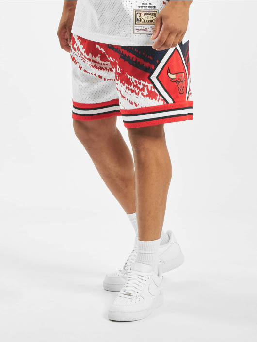 Mitchell & Ness Šortky Independence Swingman Chicago Bulls modrý